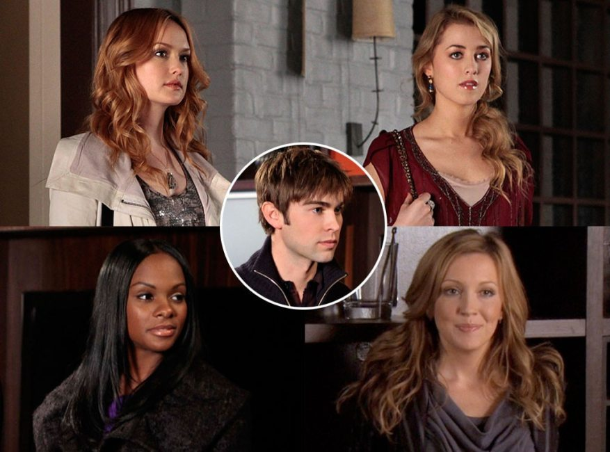 Gossip Girl Couples, Chace Crawford, Kailee DeFer, Ella Rae Peck, Katie Cassidy, Tika Sumpter