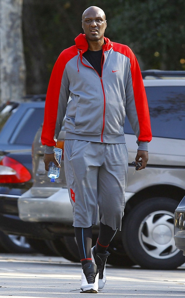 Lamar Odom Resurfaces Looking Healthy While Hiking Without