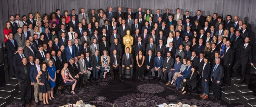 Oscar Luncheon, Class Photo 2015