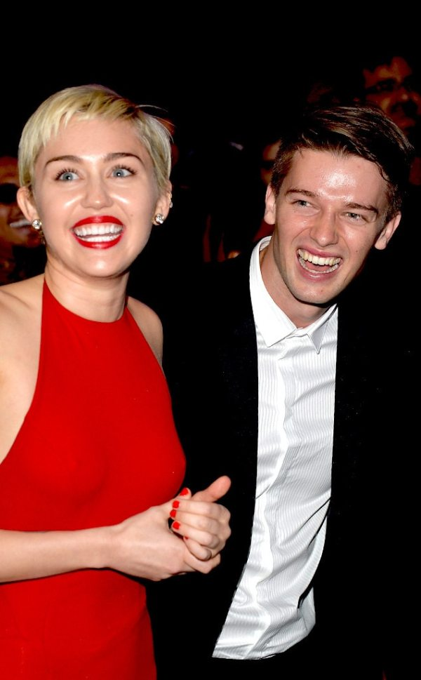 Miley Cyrus & Patrick Schwarzenegger from 2015 Grammys ...