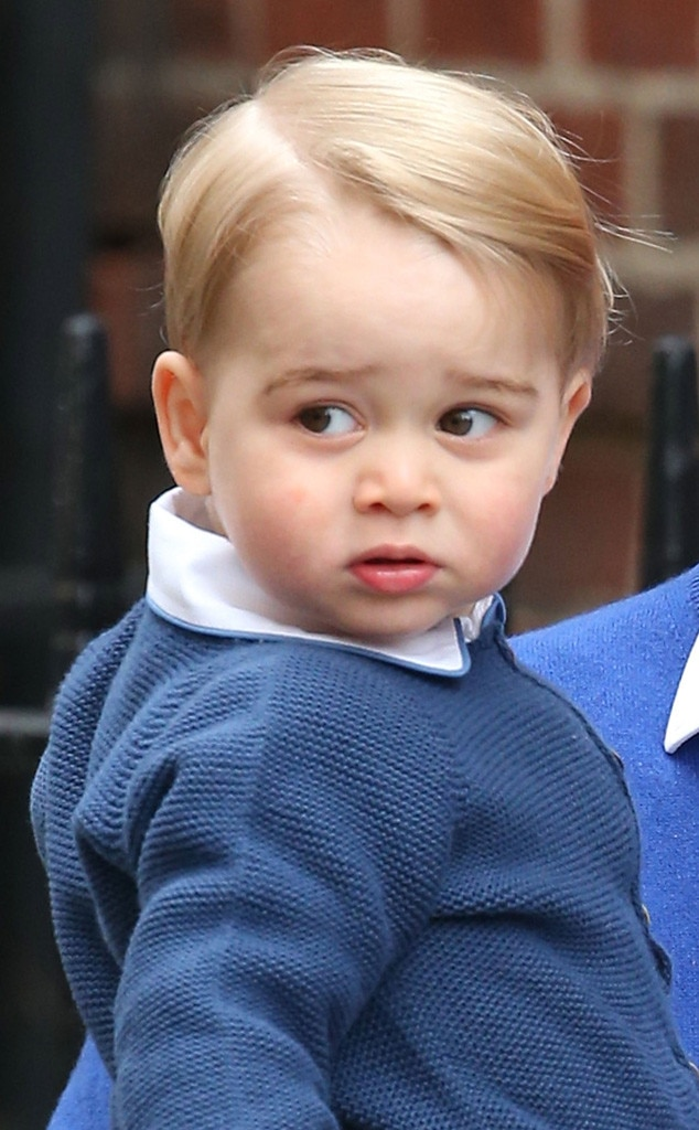 Prince William Brings Prince George To Hospital To Visit Kate And Newborn Sister Royal Baby No