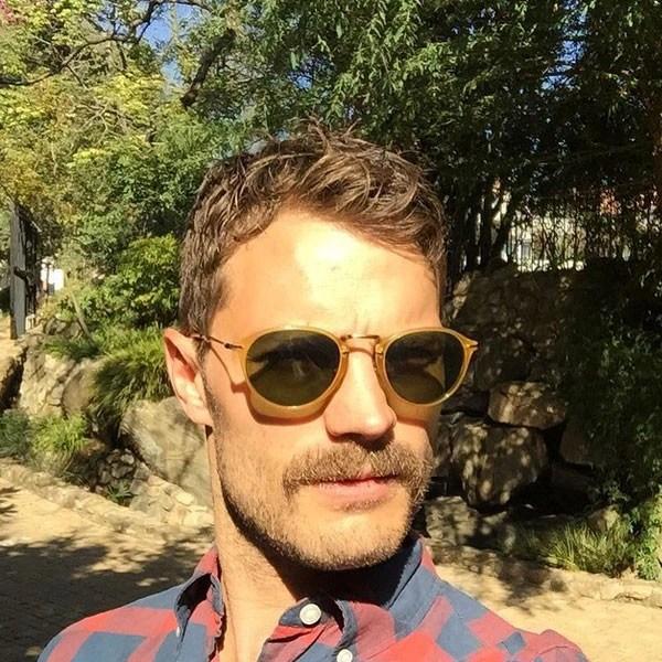 Jamie Dornan Reveals New Mustache Is His Facial Hair