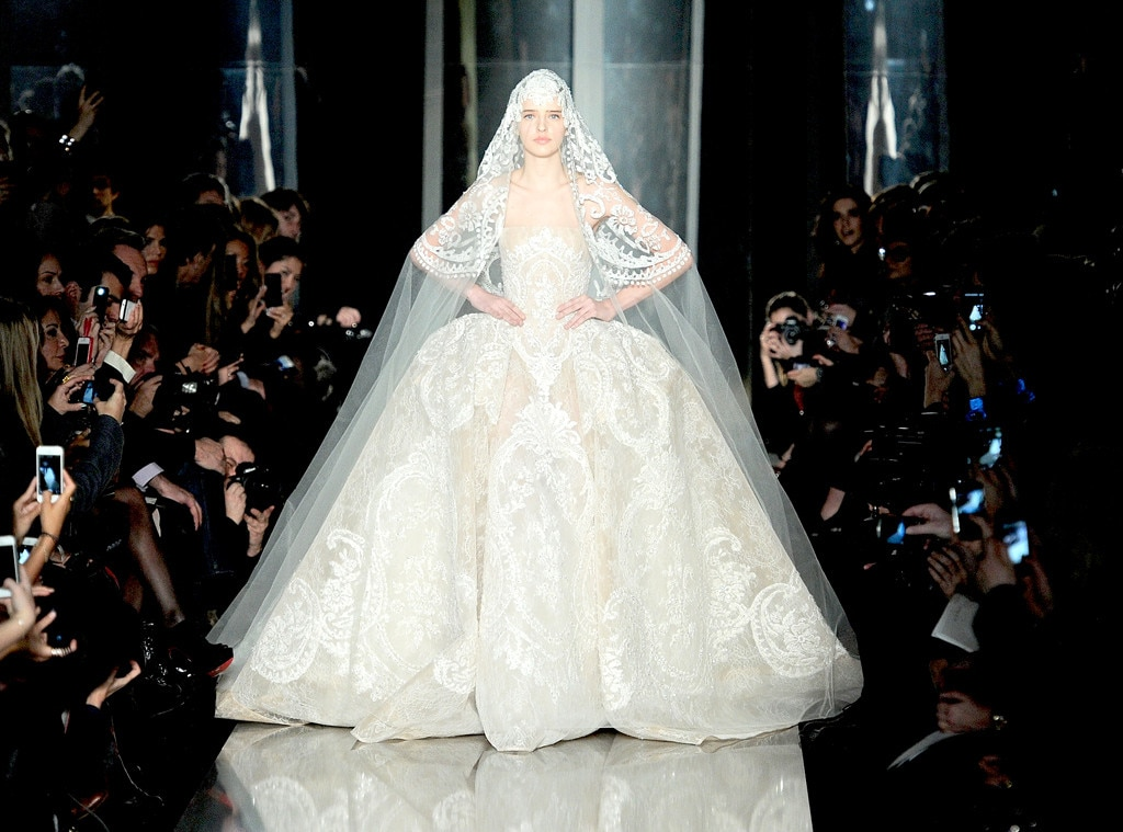 Elie Saab, 2013 From Most Show-Stopping Wedding Gowns Ever