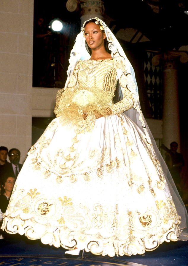 Gianni Versace, 1992 From Most Show-Stopping Wedding Gowns