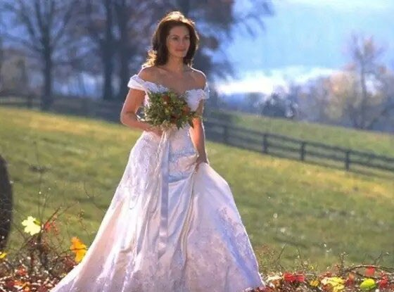Runaway Bride From Best TV & Movie Wedding Dresses