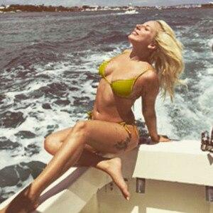 Lady Gaga Flaunts Curves In Tiny Bikini While Boating In