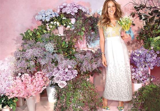 Martha Stewart Weddings Sarah Jessica Parker
