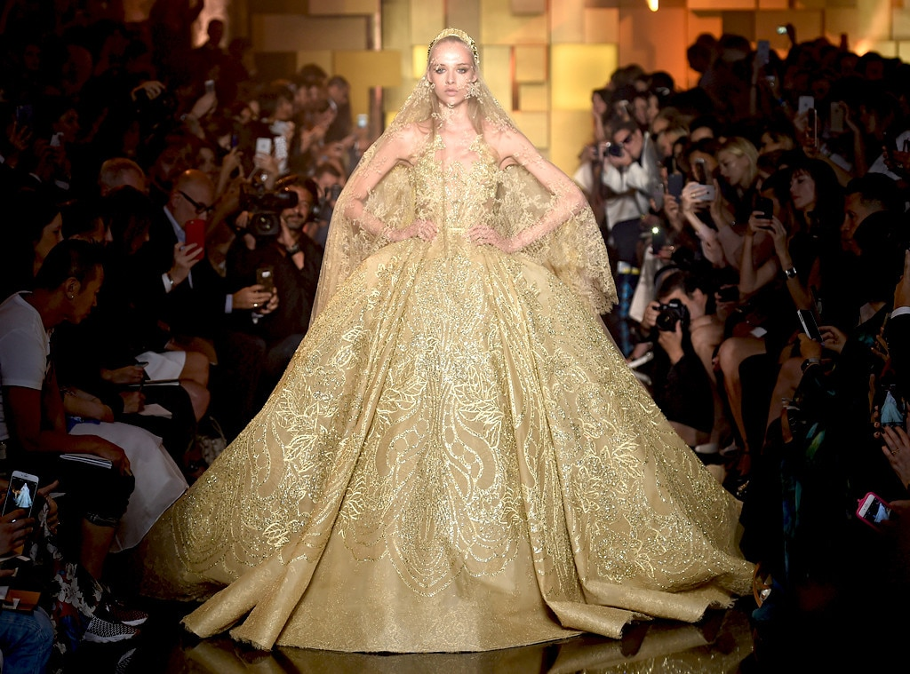 Elie Saab, 2015 From Most Show-Stopping Wedding Gowns Ever