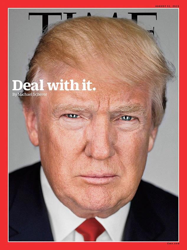 Resultado de imagen para donald trump times