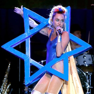 James Franco Honored at Bar Mitzvah: Miley Cyrus Performs ...