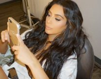 Kim Kardashian Briefly Returned to Facebook Last Night