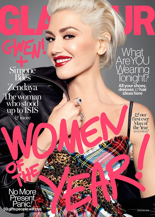 Gwen Stefani, Women of the Year, Glamour November 2016