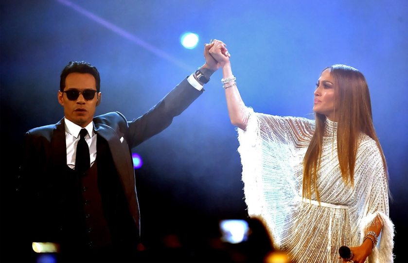Marc Anthony, Jennifer Lopez, Latin Grammy Awards