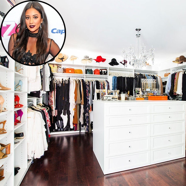 Vintage Chandeliers, Marble And A Bedroom-Sized Closet