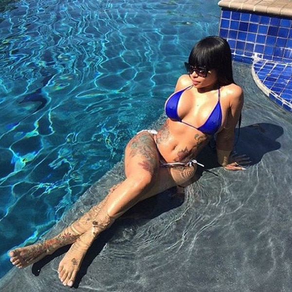 Pool Time From Blac Chynas Sexiest Instagram Photos