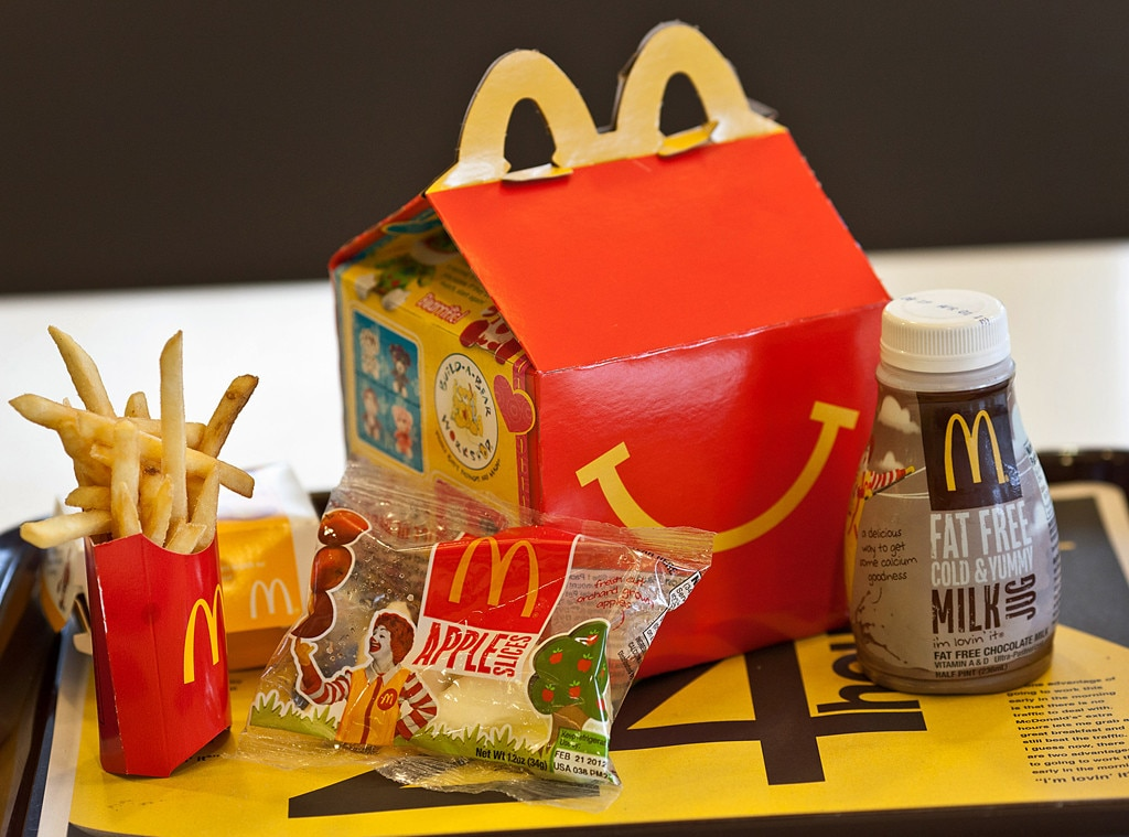 McDonald's Happy Meal Menu Is Getting Slimmer, Again | E! News