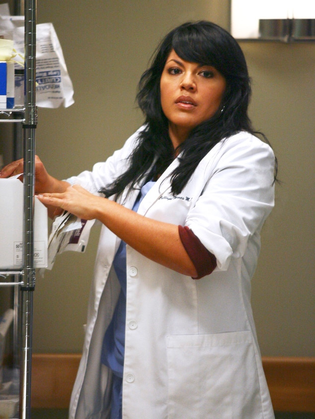 Dr Callie Torres Greys Anatomy From The Hottest