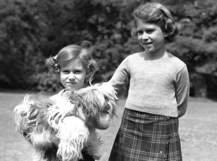 Queen Elizabeth II, Princess Margaret