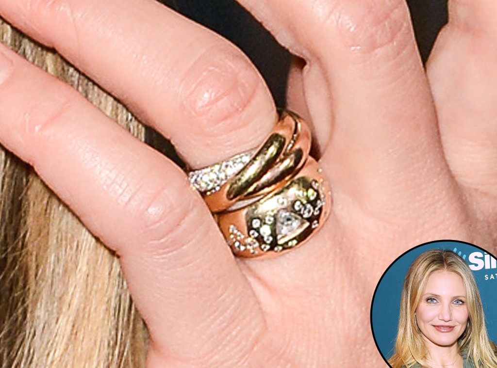 Cameron Diaz From Truly Unique Celebrity Engagement Rings