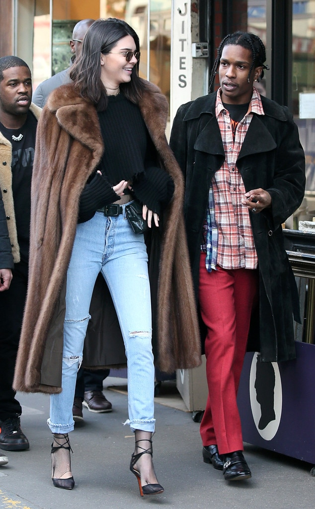 Kendall Jenner, ASAP Rocky, A$AP Rocky