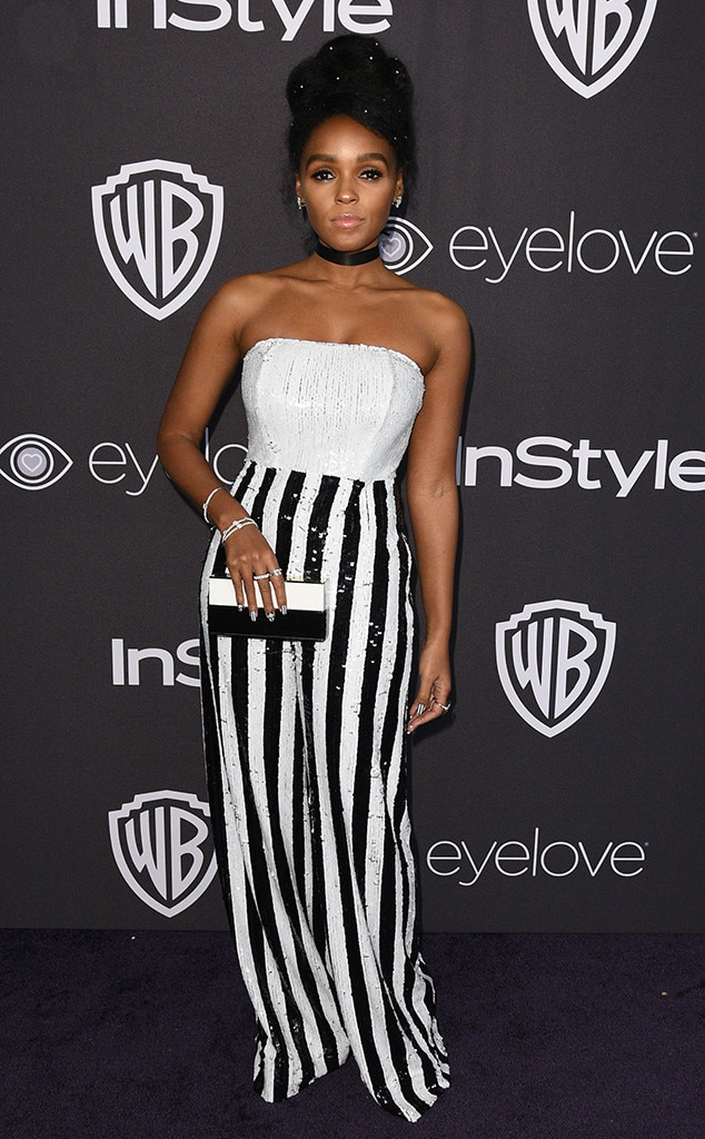 Image result for janelle monae golden globes 2017