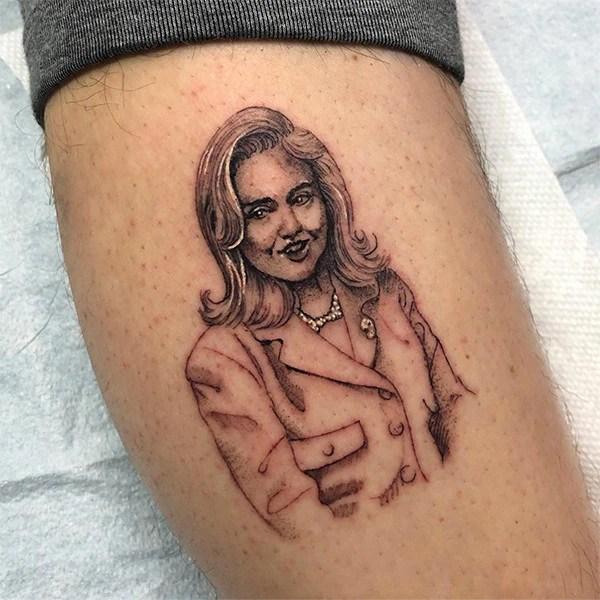 Pete Davidson, Hillary Clinton, Tattoo