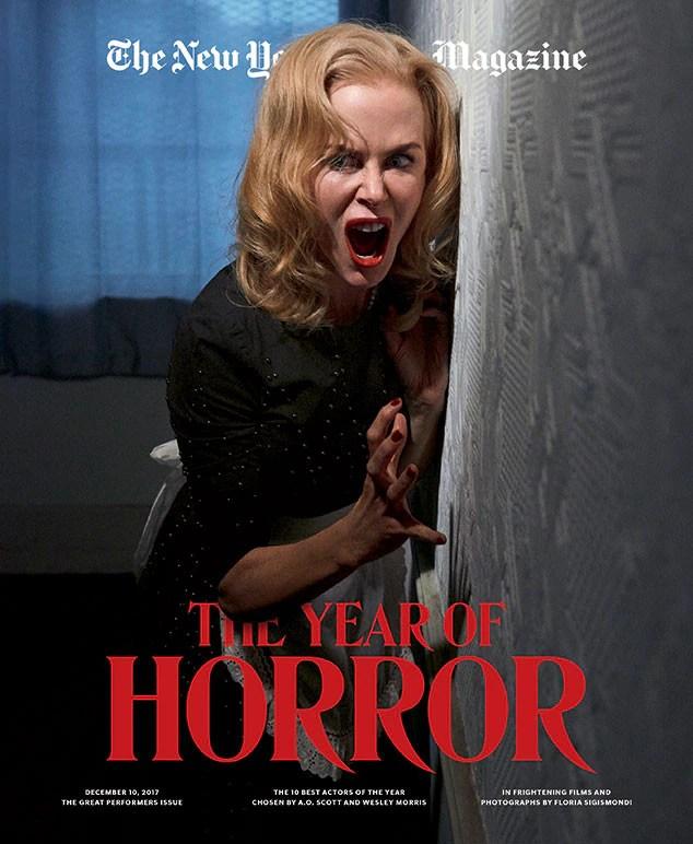 New York Times Magazine, Great Performers Issue, Nicole Kidman, Saoirse Ronan, Timothy Chalamet, Tiffany Haddish, Jake Gyllenhaal