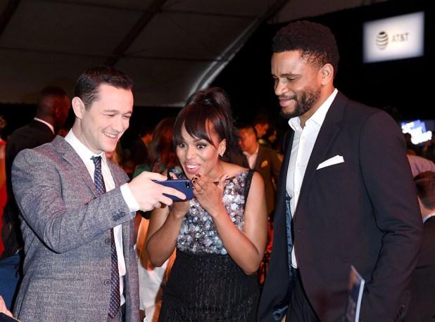 Joseph Gordon-Levitt, Kerry Washington, Nnamdi Asomugha, 2017 Film Independent Spirit Awards, Show