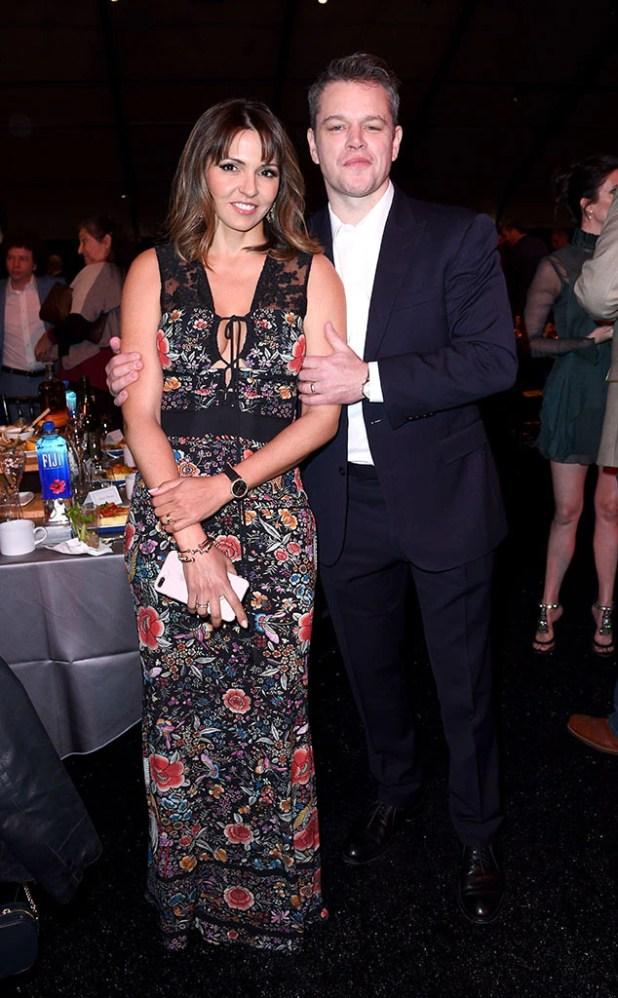 Matt Damon, Luciana Barroso, 2017 Film Independent Spirit Awards, Show