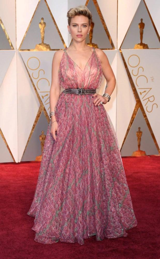 Scarlett Johansson, 2017 Oscars, Academy Awards, Arrivals