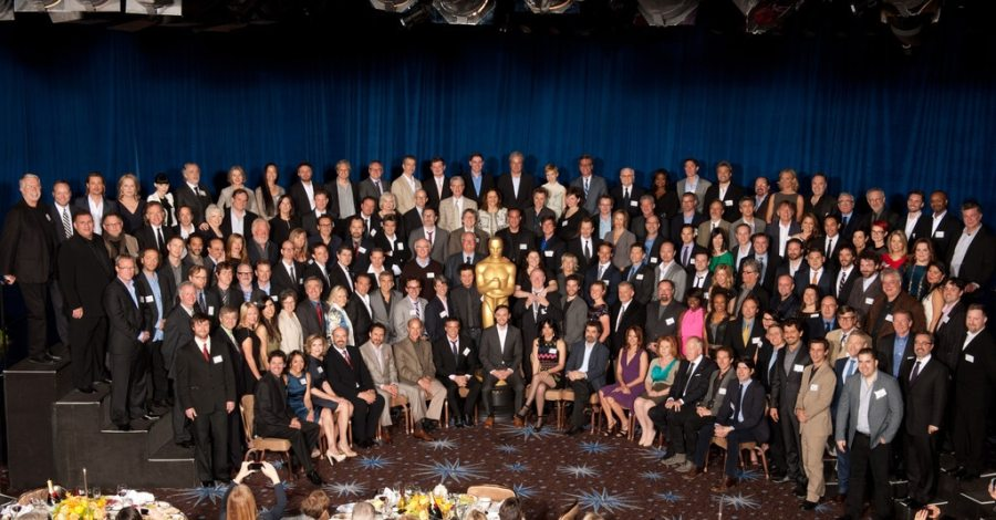 Oscar Luncheon, Class Photo 2012