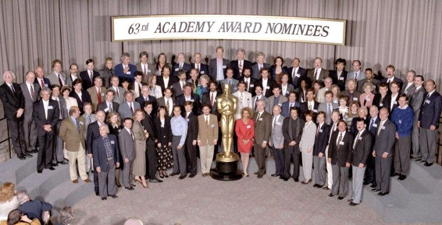 Oscar Luncheon, Class Photo 1991