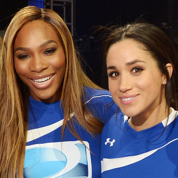 Meghan Markle Bestie with Serena Williams