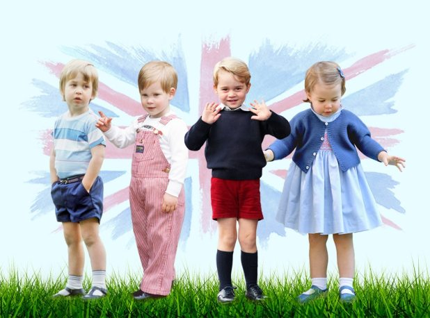 Royal Childhoods, Prince William, Prince Harry, Prince George, Princess Charlotte