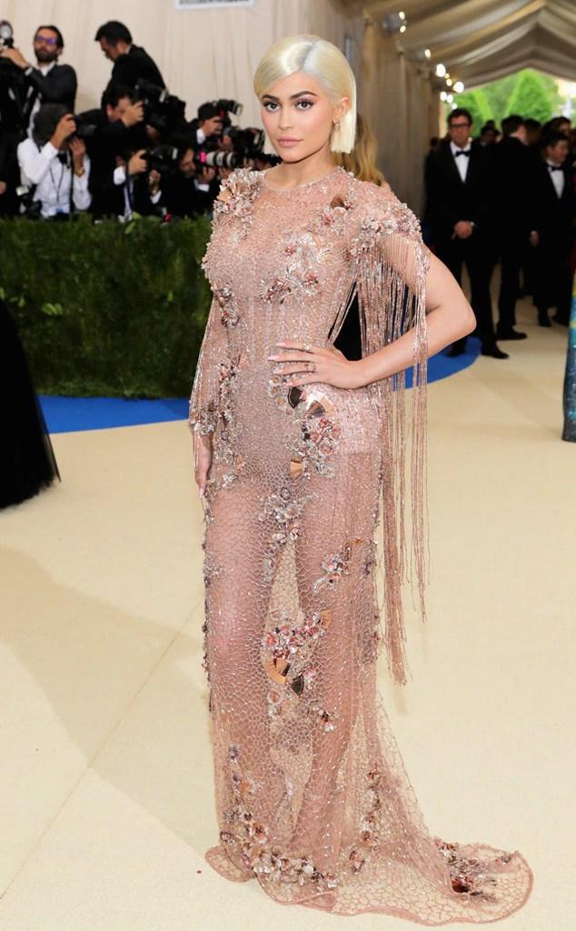 Kylie Jenner 2017 met ball, 2017 met gala, metball, metgala, red carpet, best and worst dressed