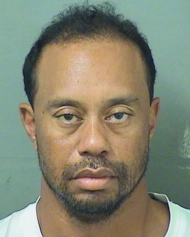 Tiger Woods, Mug Shot, Mugshot
