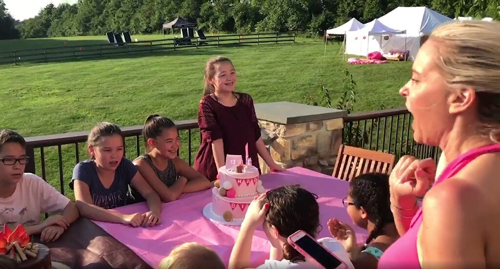 Kate Gosselin S Sextuplets Go Glamping For Their 13th