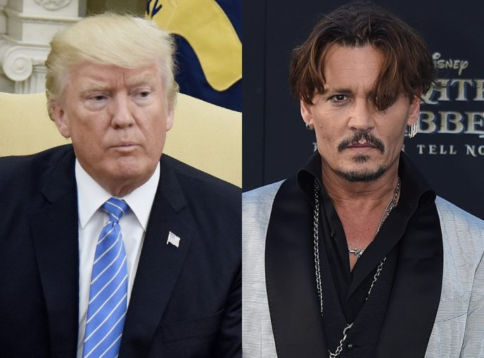 Donald Trump, Johnny Depp