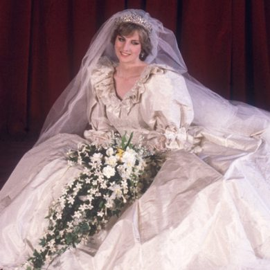 The Epic Story of Princess Diana s Wedding Dress  3 Months  25 Feet     The Epic Story of Princess Diana s Wedding Dress  3 Months  25 Feet of  Train  a 20 Year Old Bride and a Fashion Legacy for the Ages   E  News