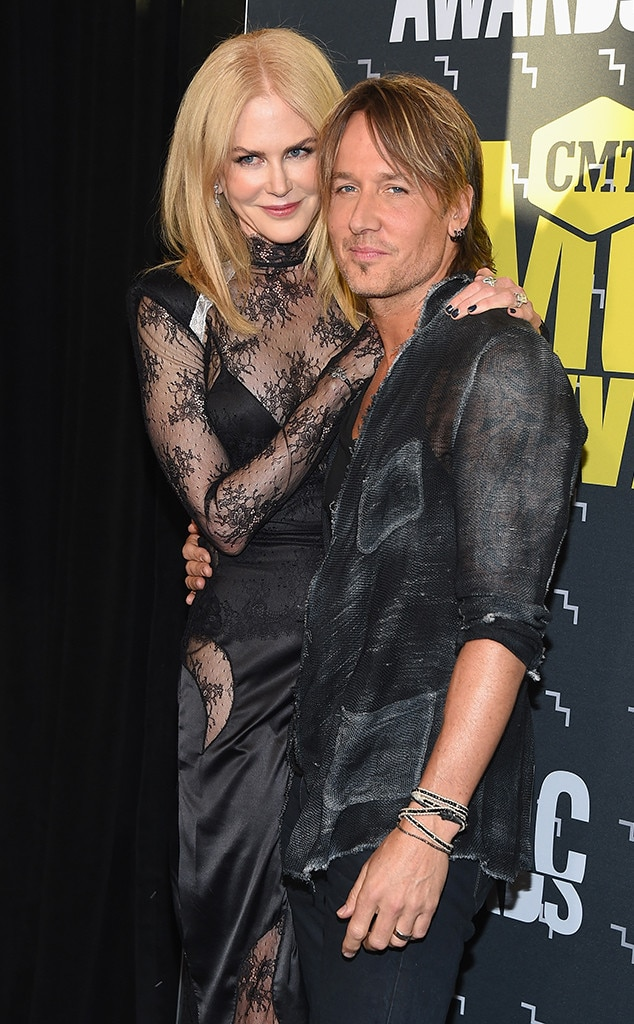 Nicole Kidman, Keith Urban, CMT Music Awards 2017, Couples