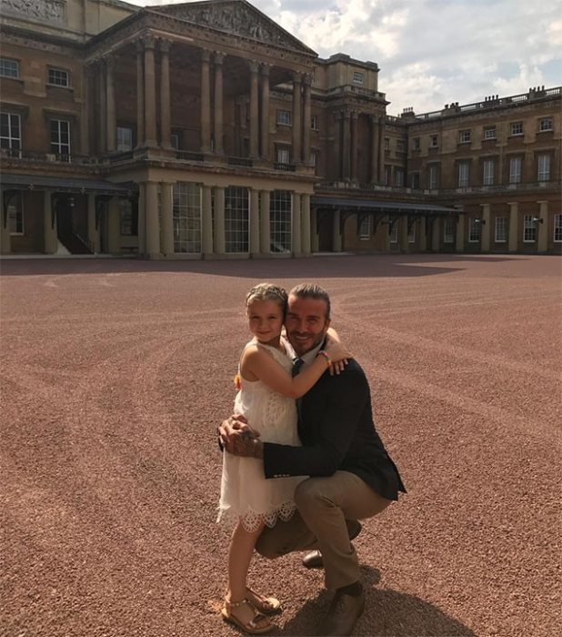Harper Beckham, Birthday, Princess Eugenie