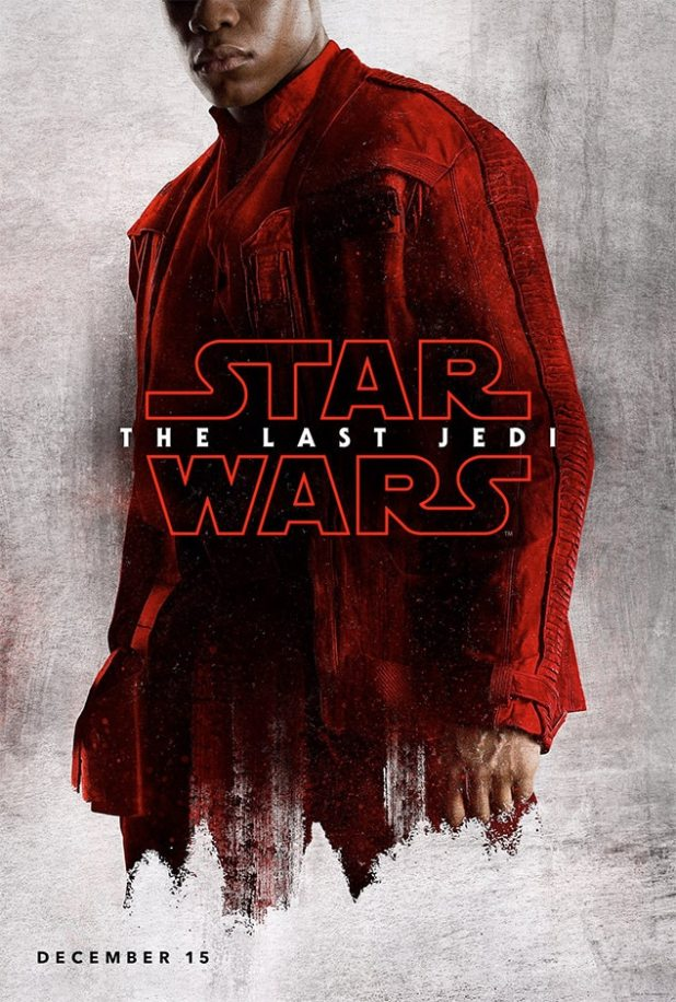John Boyega, Star Wars: The Last Jedi, Character Poster