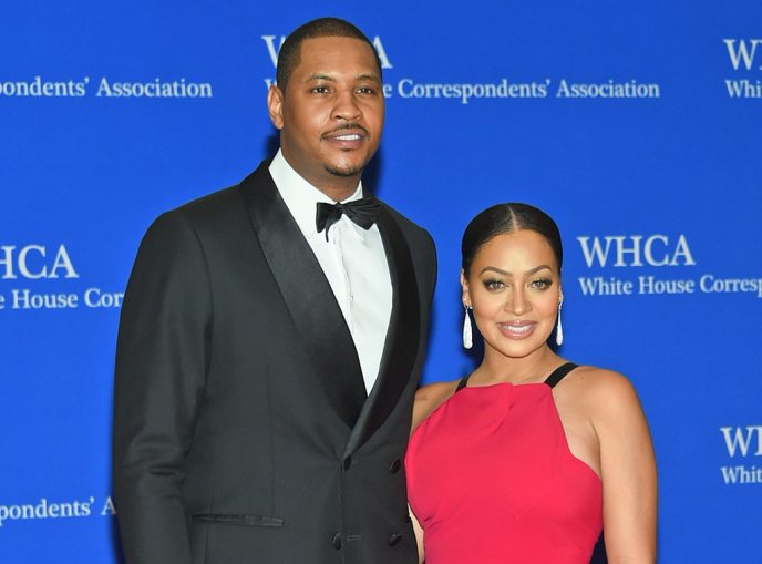 Carmelo Anthony, La La Anthony