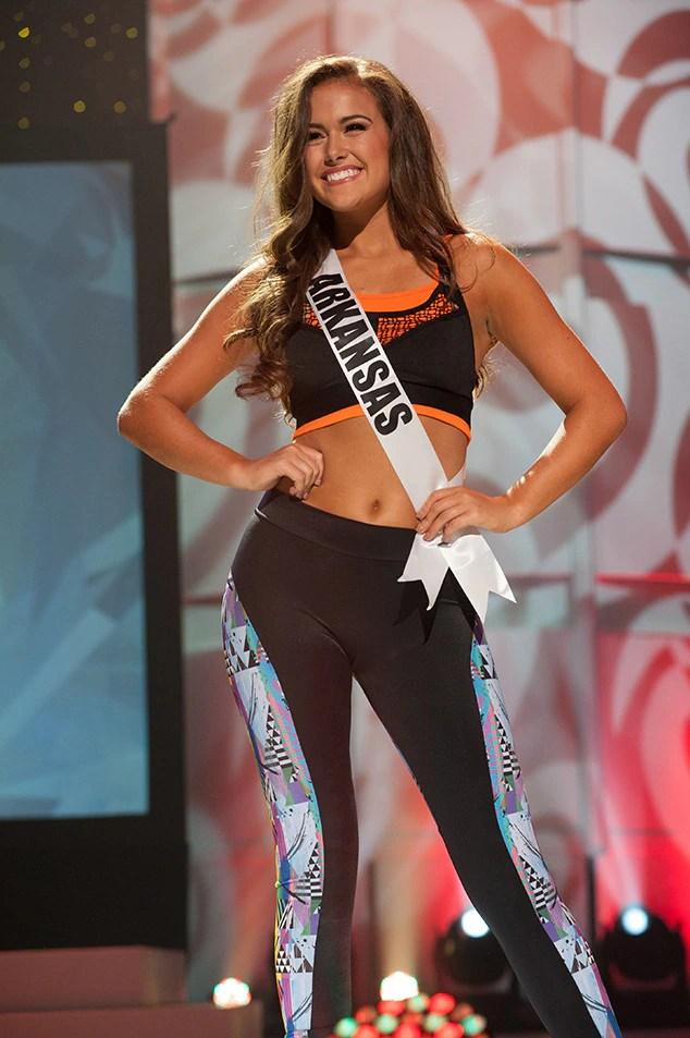 Allison Tucker, Miss Arkansas Teen USA 2017, Preliminary Competition, Athleisure Wear