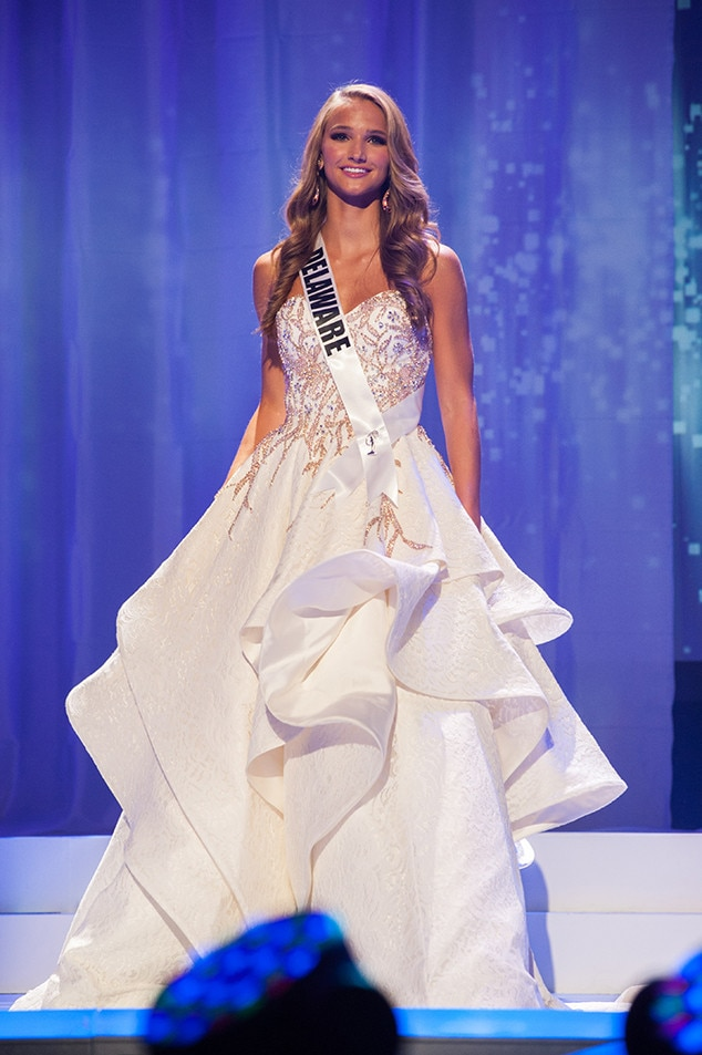 Grace Lange, Miss Delaware Teen USA 2017, Preliminary Competition, Evening Gown