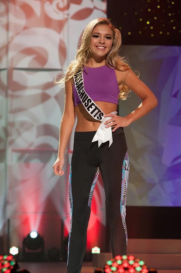 Caitlyn Martin, Miss Massachusetts Teen USA 2017, Preliminary Competition, Athleisure Wear