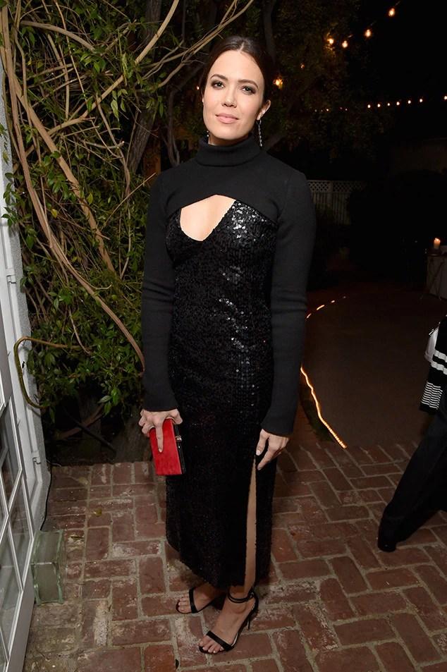 Mandy Moore, Pre-Emmys Party, Gersh