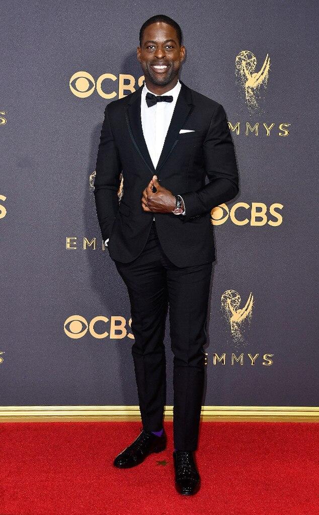 Sterling K. Brown, 2017 Emmy Awards, Arrivals