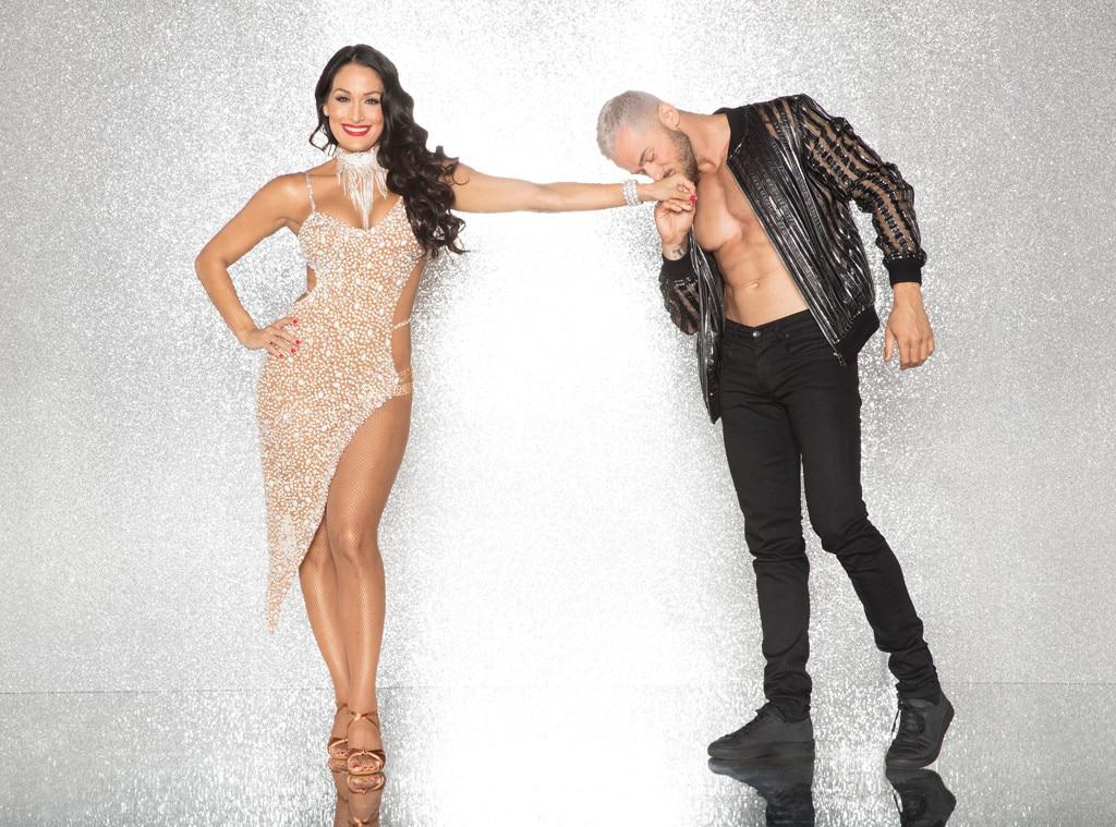 Nikki Bella and Artem Chigvintsev, DWTS
