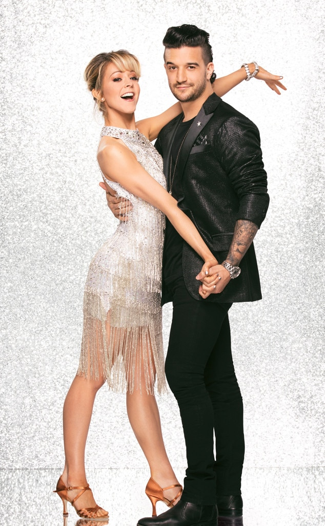 Lindsey Stirling and Mark Ballas, DWTS